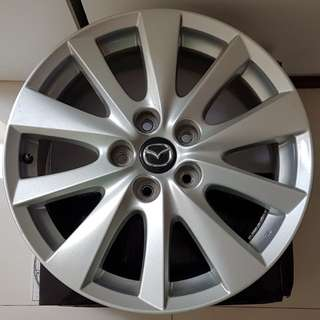 Mazda CX5 sport rims 17 inches