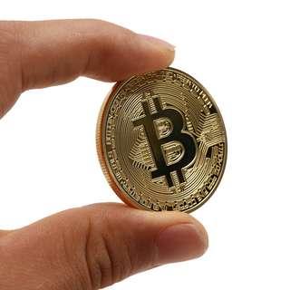 [PO] BTC Bitcoin Coin Art Collection Gift Collection Physical Coin Collection