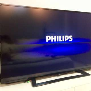 "Philips 50"" Full HD Slim LED TV"