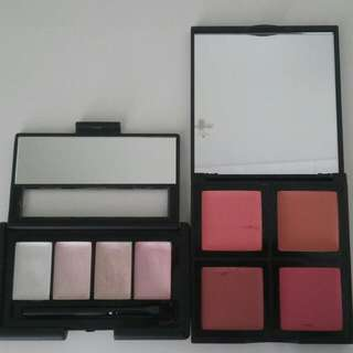 ELF Cream Blush Palette In Soft And E.L.F Cream Shimmer Highlighter Palette