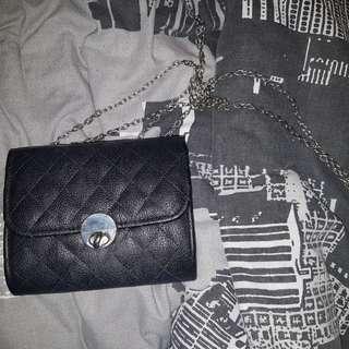 Black Valley Girl Bag