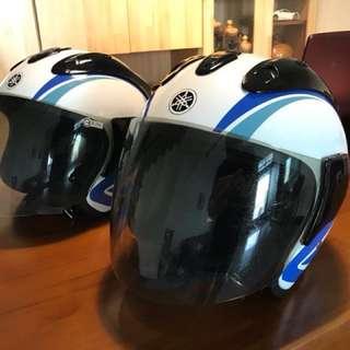 (二手)Yamaha 4/3安全帽 兩頂一起賣/帽子九成新