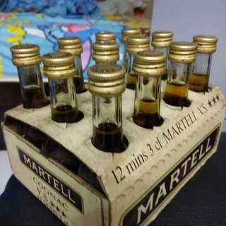 80年代馬爹利三星干邑30ml酒辦原盒12支