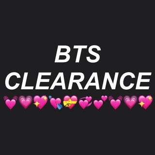 BTS CLEARANCE 💕
