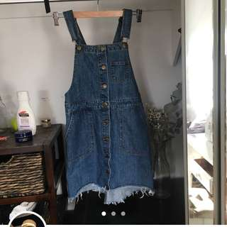 Pinafore dress overall thing