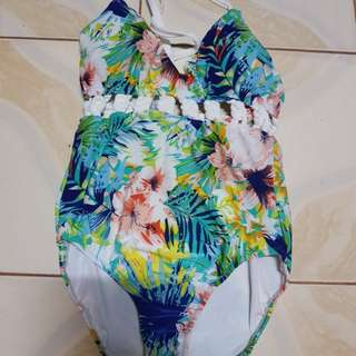 Cesa floral swimsuit