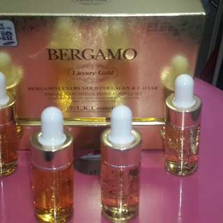 Bergamo ampoule colagen cavier anti wrinkles