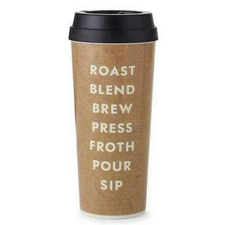 Kate Spade Roast Blend Brew Thermal Mug