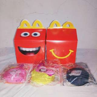 Adventure Time Happy Meal Princesses Toys