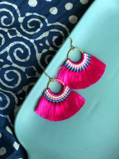 Carissa bohemian Tassel earrings available SALE