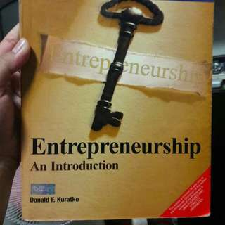 Entrepreneurship: An Introduction