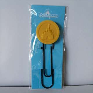 DISNEY HONG KONG PAPER CLIP/ Bookmark includes POSTAGE