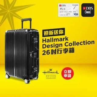 全新Hallmark Design Collection 26吋行李箱