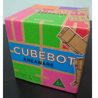 [Price Reduced!] BNIB CubeBot toy by Areaware