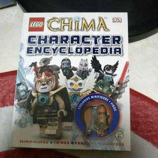 Authentic lego chima character encyclopedia