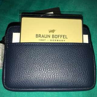 BRAUN BUFFEL COIN PURSE
