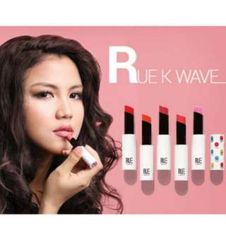 Brand New Authentic Rue K Wave Korea Moisture Lipsticks