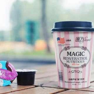 魔力奶茶💕瘦下半身減肥瘦身
