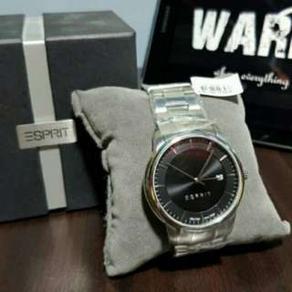 Esprit metal strap men's watch