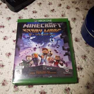 Mincraft story mode for xbox one