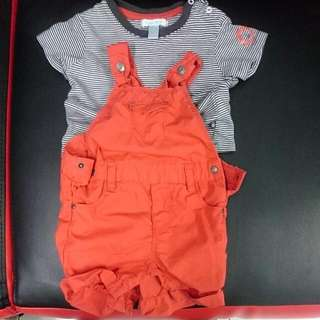 Original Obaibi Baby Dress Set Used Only 2 Times
