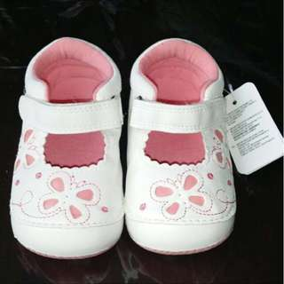 Mothercare size 4 baby girl shoes