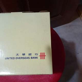 Uob vintage coin bank  (brand new)