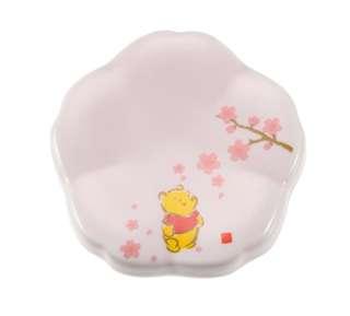 日本 Disney Store 直送 Winnie the Pooh 小熊維尼 Sakura 櫻花系列陶瓷筷子托 / 筷子座