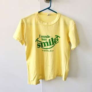 Yellow Vintage T-shirt
