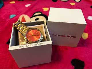 Slightly used Michael Kors watch for women