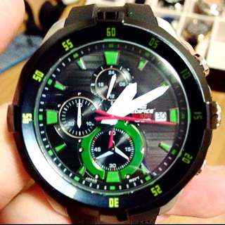 RARE Casio Edifice Neon Green Limited Edition