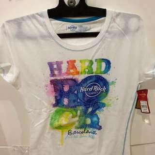 T shirt hard rock (from Barcelona ) NEW