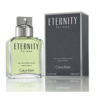 Calvin Klein CK Eternity EDT for Men (50ml/100ml/Tester)