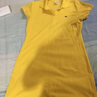 Lacoste dress ( yellow)