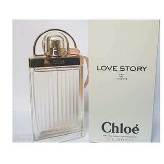 Chloe love story EDT 100ml Tester