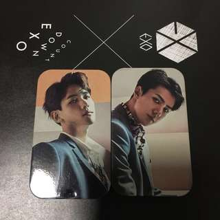 EXO Tower Records Countdown Mint Tablets
