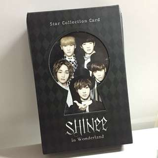 Shinee star collection card SM 官方卡