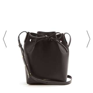 Mansur Gavriel leather Bucket Bag mini mini