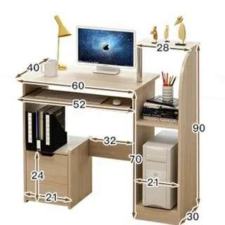 👉自己屋企自己裝👉屋企都可以好自主-價平好玩自由配搭🕺💃-電腦檯系列-3色選擇