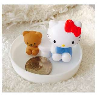 Hello Kitty and Bear