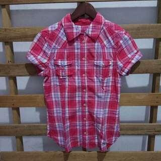 Edc esprit embroidery blouse