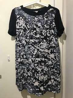 C/MEO COLLECTIVE T SHIRT DRESS