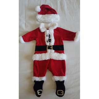 Mothercare Santa Outfit with a Hat!