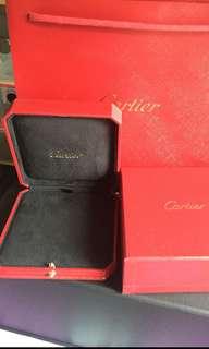Cartier 飾物盒連紙袋