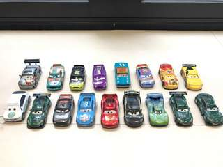 Disney Cars Collection - Team Race Cars
