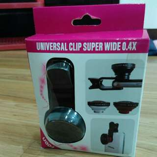 Universal clip super wide 0.4X Fisheye