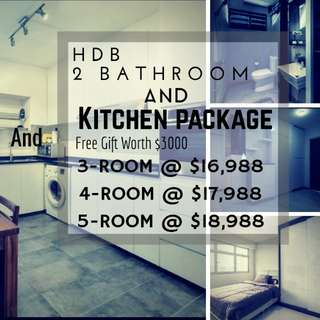 Kitchen and 2 Bathroom Package (Resale)