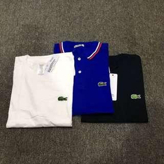 Lacoste Polo & T Shirt Set