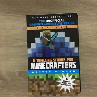 Minecraft book box set- 6 Thrilling Stories for minecrafters by Winter Morgan