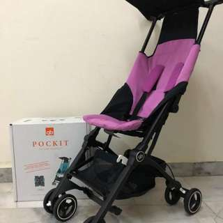 GB Pockit (posh pink) FREE Travel bag worth RM99
